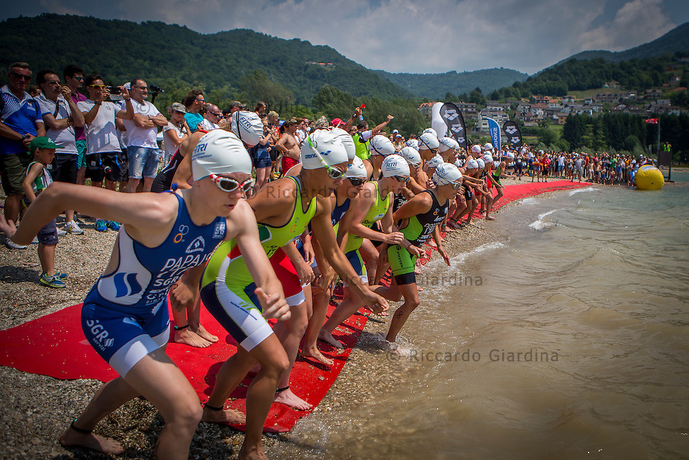 Partenza gara femminile | Women race start