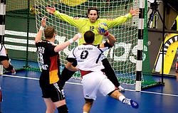 14.01.2011, FFS Arena, Lund, SWE, IHF Handball Weltmeisterschaft 2011, Herren, Deutschland (GER) vs Aegypten (EGY) im Bild, // Silvio Heinevetter, Tyskland. Målvakt // during the IHF 2011 World Men's Handball Championship match Germany (GER) vs Egypt (EGY) at FFS Arena in Lund. . EXPA Pictures © 2011, PhotoCredit: EXPA/ nph/  Bildbyrån   76200       ****** out of GER / SWE / CRO ******
