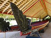 Cermonial Waka at Waitangi Treaty Grounds, Northland, New Zealand