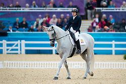 Schloss Jody (CAN) - Inspector Rebus <br /> Individual Championship Test - Grade Ia<br /> London 2012 Paralympic Games<br /> © Hippo Foto - Jon Stroud