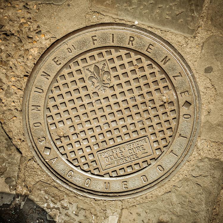 Florence Manhole - Florence, Italy 2014
