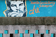 Hand painted Che sign in Cardenas, Matanzas, Cuba.