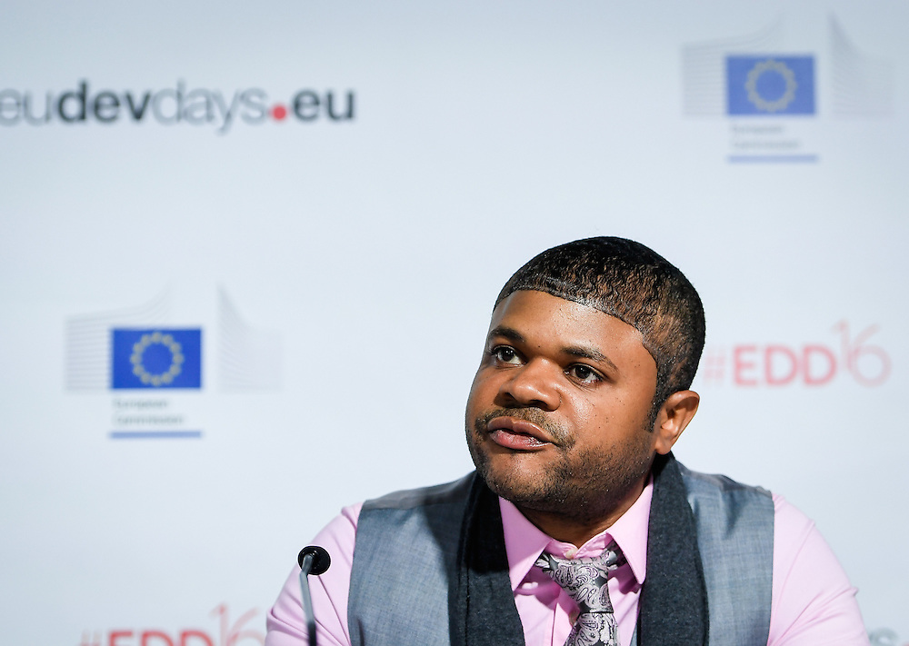 20160615 - Brussels , Belgium - 2016 June 15th - European Development Days - The people's peace - Jalon Arthur , Director , Innovation and Development , Cure Violence © European Union