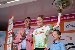 Amalie Dideriksen (Boels Dolmans) keeps her lead in the points classification after the 26.4 km Stage 2 Team Time Trial of the Boels Ladies Tour 2016 on 31st August 2016 in Gennep, Netherlands. (Photo by Sean Robinson/Velofocus).