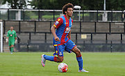 Keshi Anderson looks for options during the U21 Professional Development League match between Crystal Palace U21s and Huddersfield U21s at Imperial Fields, Tooting, United Kingdom on 7 September 2015. Photo by Michael Hulf.