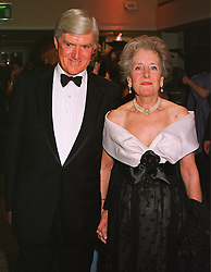 LORD & LADY PARKINSON the former Conservative government minister, at a ball in London on 13th May 1999.MRZ 6