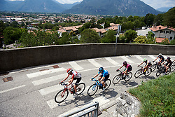 The break return to Gemona during Stage 9 of 2019 Giro Rosa Iccrea, a 125.5 km road race from Gemona to Chiusaforte, Italy on July 13, 2019. Photo by Sean Robinson/velofocus.com