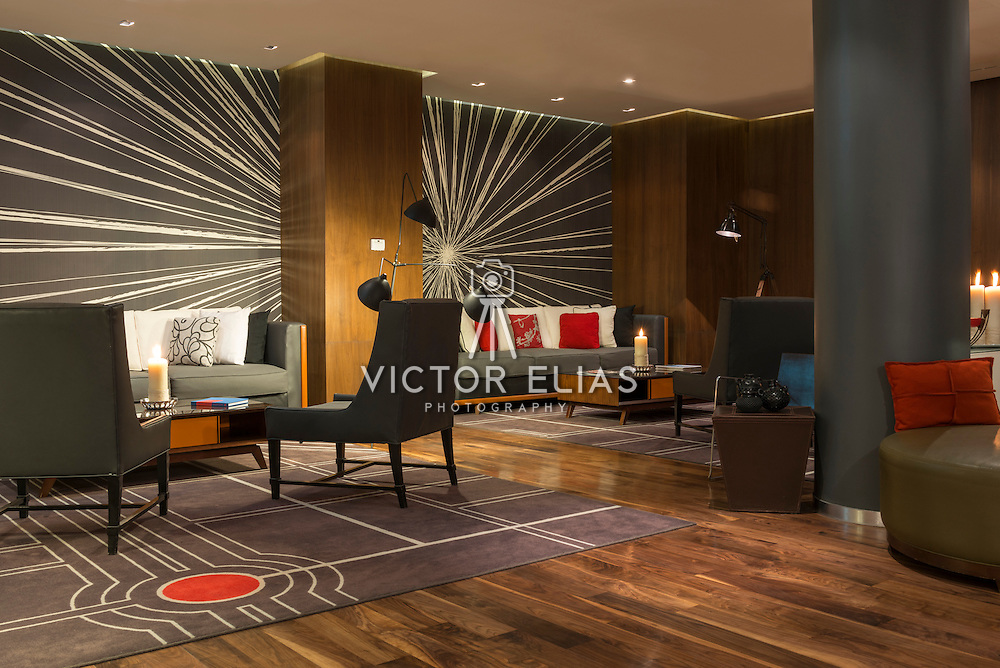 Le Meridien Hotel Mexico City. Photographed by: Victor Elias Photography