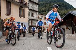 10-09-2017 FRA: BvdGF Tour du Mont Blanc day 1, Beaufort <br /> Vandaag vertrekken we vanuit Papendal in Arnhem naar naar het plaatsje Beaufort (nabij Chamonix) in Frankrijk / Marielle