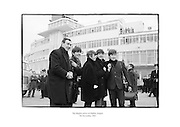The Beatles at Dublin Airport.<br />
