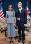 Melania Trump Meets Prince Harry