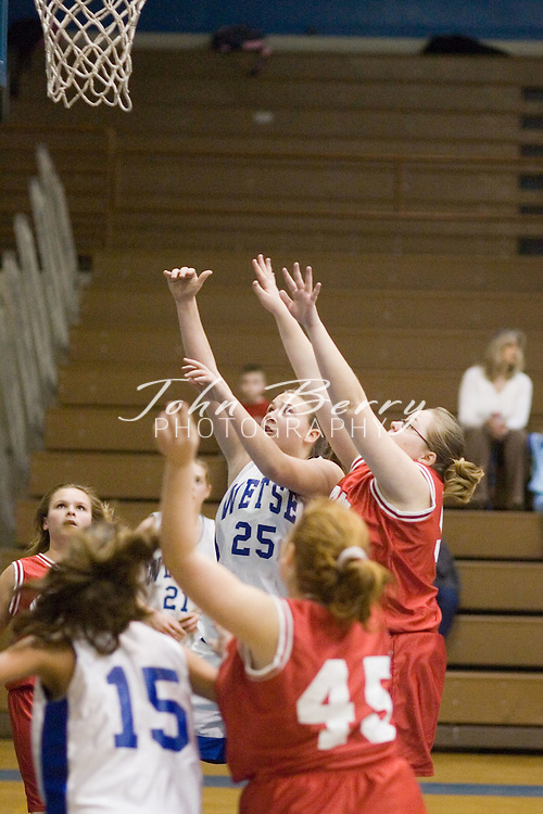 Wetsel Girls vs North Fork.January 12, 2005