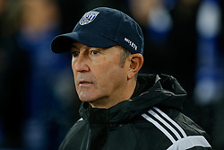 West Brom Manager Tony Pulis looks on - Photo mandatory by-line: Rogan Thomson/JMP - 07966 386802 - 19/01/2015 - SPORT - FOOTBALL - Liverpool, England - Goodison Park - Everton v West Bromwich Albion - Barclays Premier League.
