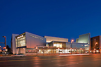 Architectural Photographer of Washington DC Exterior Image of Performing Arts Center at Montgomery College, Bethesda, MD