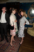 Juliet Cornell and Tamsin Bruce-Gardyn. Remi and Olivier Krug host the Krug Rose celebration. Debenham Place, 8 Addison Rd. London W14. 28 June 2005. ONE TIME USE ONLY - DO NOT ARCHIVE  © Copyright Photograph by Dafydd Jones 66 Stockwell Park Rd. London SW9 0DA Tel 020 7733 0108 www.dafjones.com