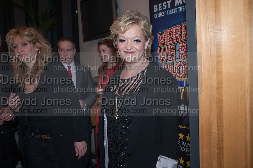 Maria Friedman; , The press night performance of the Menier Chocolate Factory's 'Merrily We Roll Along', following its transfer to the Harold Pinter Theatre, After-show party at Grace Restaurant, Gt. Windmill St. London. 1 May 2013.