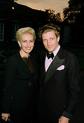 BARON & BARONESS VON MULTZAHN at a ball in London on 17th June 1997.<br /> LZL 43