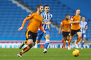 Wolverhampton Wanderers midfielder James Henry (7) during the Sky Bet Championship match between Brighton and Hove Albion and Wolverhampton Wanderers at the American Express Community Stadium, Brighton and Hove, England on 1 January 2016. Photo by Phil Duncan.