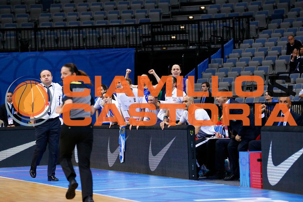 italia<br /> Italia - Belgio<br /> Nazionale Femminile Senior - EUROBASKET 2017 - Quarti di Finale<br /> O2 Arena, Praga, 22/06/2017<br /> Foto Ciamillo-Castoria / M.Brondi