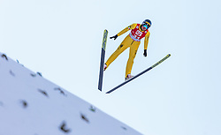 20.12.2015, Nordische Arena, Ramsau, AUT, FIS Weltcup Nordische Kombination, Skisprung, im Bild Samuel Costa (ITA) // Samuel Costa of Italy during Skijumping Qualification of FIS Nordic Combined World Cup, at the Nordic Arena in Ramsau, Austria on 2015/12/20. EXPA Pictures © 2015, PhotoCredit: EXPA/ JFK