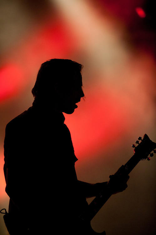 Jerry Horton from Papa Roach at the ZMF music festival in Freiburg, Germany on June 30, 2013. Photo: Miroslav Dakov