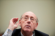 "Jul 21, 2010 - Washington, District of Columbia, U.S., - KENNETH FEINBERG, administrator of the BP Oil Spill Victim Compensation Fund, testifies before the House Judiciary Committee on ""Ensuring Justice for Victims of the Gulf Coast Oil Disaster."" (Credit Image: © Pete Marovich/ZUMA Press)"