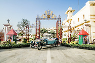 The car was a participant at the Concours D'Elegance at Pebble Beach, California, USA 2012. This shoot was to have photographs press releases and promotional material for the event. The car was photographed to illustrate it's name as 'royal' in it's natural setting at the  City Palace, Udaipur