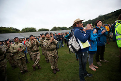 UK ENGLAND JUL17 - Registration and opening event for the Trailwalker 2017 challenge in Petersfield, South Downs, England.<br /> <br /> jre/Photo by Jiri Rezac<br /> <br /> © Jiri Rezac 2017