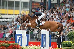 Leprevost Penelope, (FRA), Flora de Mariposa<br /> Individual Final Competition<br /> FEI European Championships - Aachen 2015<br /> © Hippo Foto - Dirk Caremans<br /> 23/08/15
