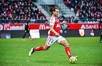 Mickael TACALFRED - 25.01.2015 - Reims / Lens  - 22eme journee de Ligue1<br /> Photo : Dave Winter / Icon Sport *** Local Caption ***
