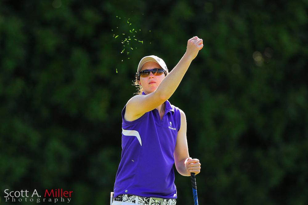Katie Kempter during the final round of the Symetra Tour's Guardian Retirement Championship at Sara Bay in Sarasota, Florida April 28, 2013. ..©2013 Scott A. Miller