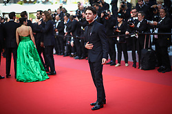 Xavier Dolan departs the screening of Matthias Et Maxime (Matthias and Maxime) during the 72nd annual Cannes Film Festival on May 22, 2019 in Cannes, France. Photo by Shootpix/ABACAPRESS.COM