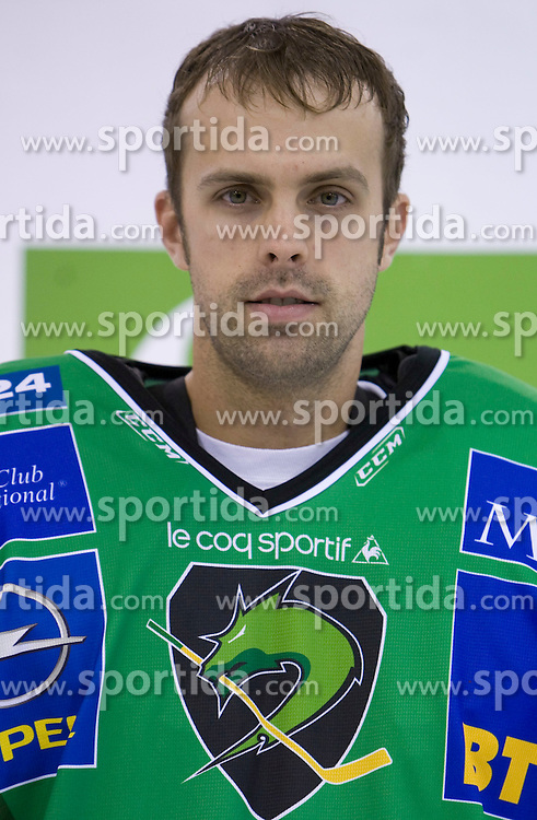 Goalkeeper Mike Morrison of HDD Tilia Olimpija before new season 2008/2009,  on September 17, 2008 in Arena Tivoli, Ljubljana, Slovenia. (Photo by Vid Ponikvar / Sportal Images)