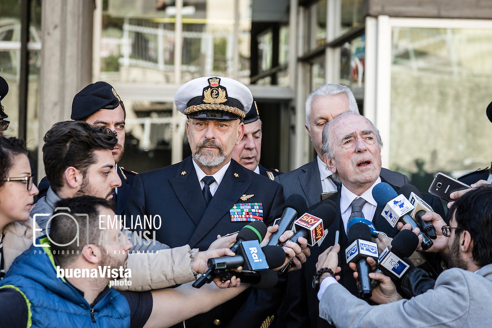 Potenza, Basilicata, Italia, 15/04/2016.<br />