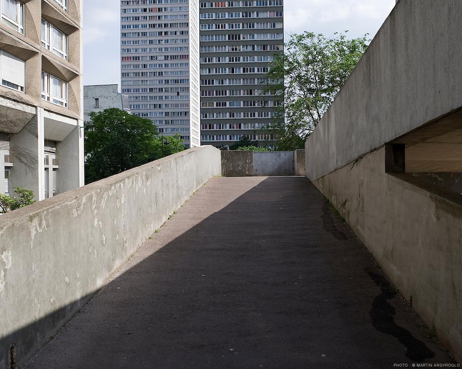 Dalle Tolbiac, Paris XIII, 2009