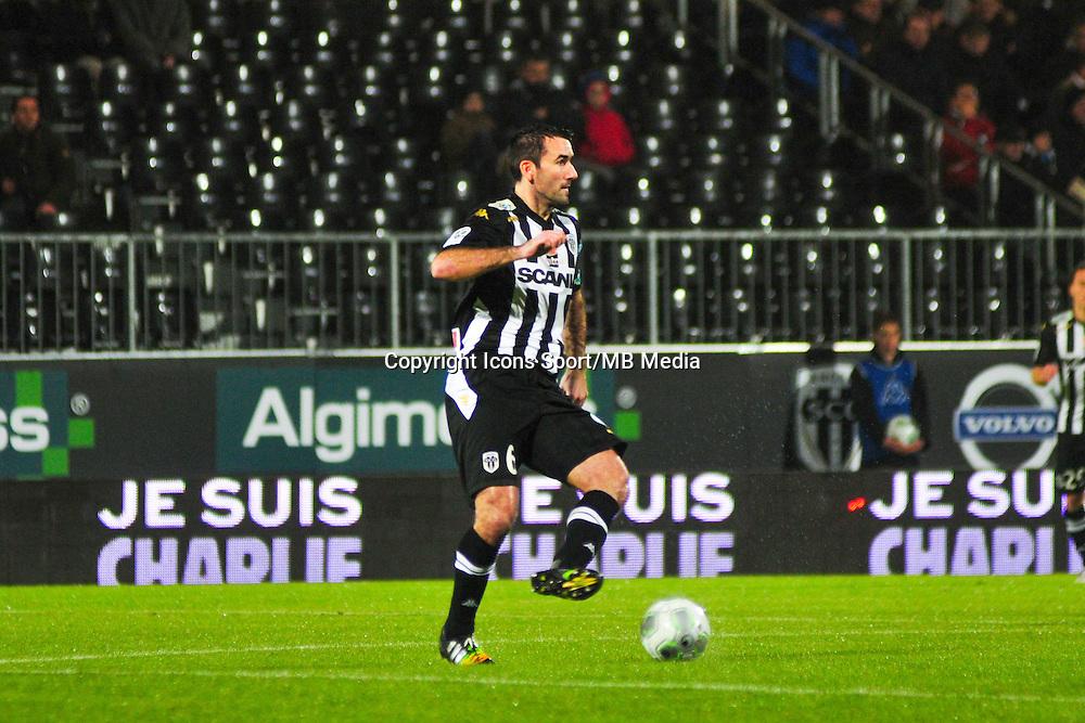 Loic Guillon  - 09.01.2015 - Angers / Nancy - 19eme journee de Ligue 2 <br /> Photo : Philippe Le Brech / Icon Sport
