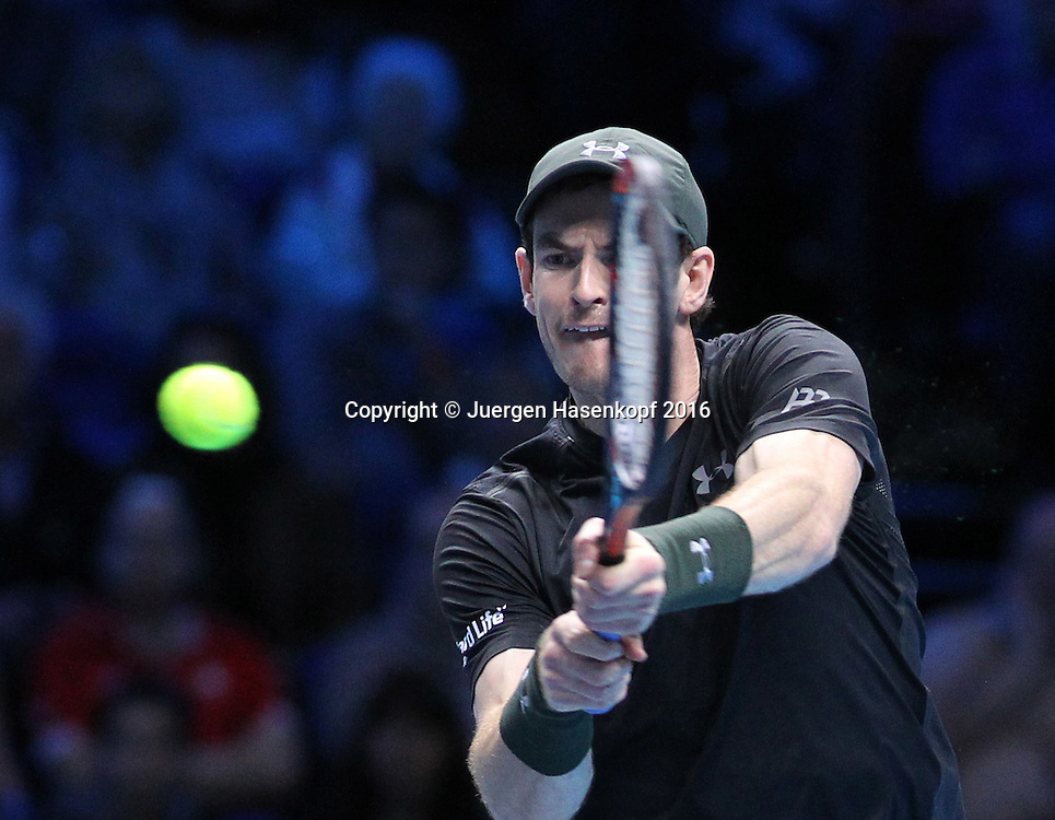 ANDY MURRAY (GBR), ATP World Tour Finals, O2 Arena, London, England.<br /> <br /> Tennis - ATP World Tour Finals 2016 - ATP -  O2 Arena - London -  - Great Britain  - 18 November 2016. <br /> &copy; Juergen Hasenkopf/Grieves