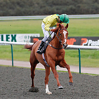 Junoob and Richard Kingscote winning the 3.05 race