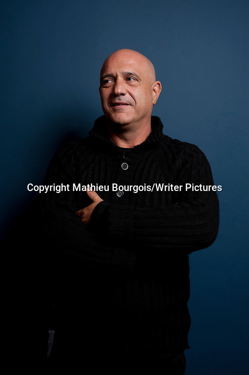 Patrice Guirao, French author<br /> <br /> Picture Copyright Mathieu Bourgois/Writer Pictures<br /> contact: +44 (0)20 822 41564<br /> sales@writerpictures.com<br /> www.writerpictures.com