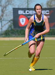 Jodie Vermeulen of Eunice during day one of the FNB Private Wealth Super 12 Hockey Tournament held at Oranje Meisieskool in Bloemfontein, South Africa on the 6th August 2016<br /> <br /> Photo by:   Frikkie Kapp / Real Time Images