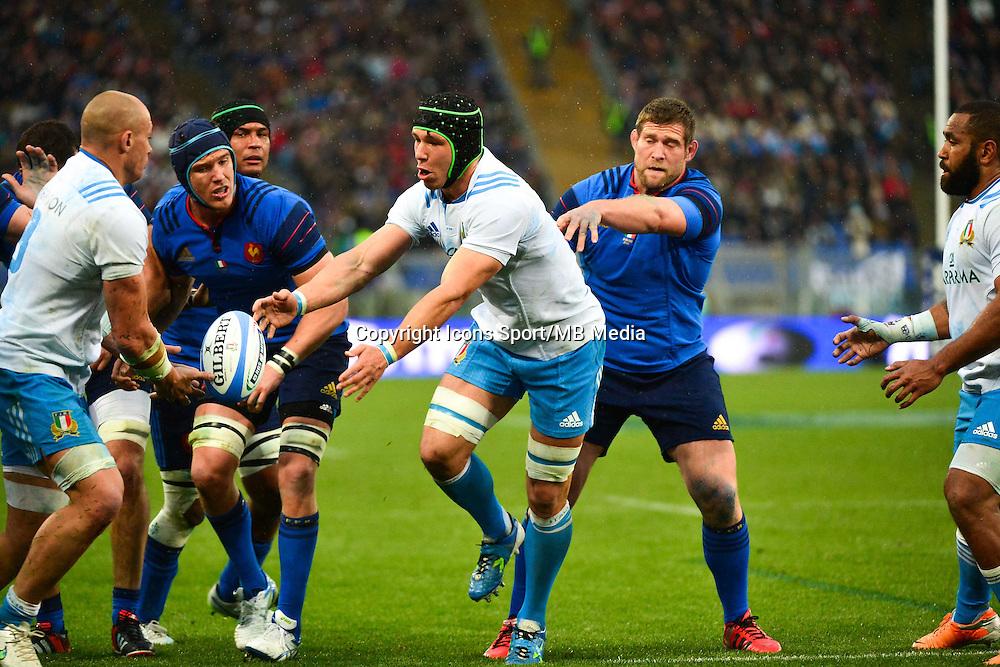 Francesco MINTO - 15.03.2015 - Rugby - Italie / France - Tournoi des VI Nations -Rome<br /> Photo : David Winter / Icon Sport