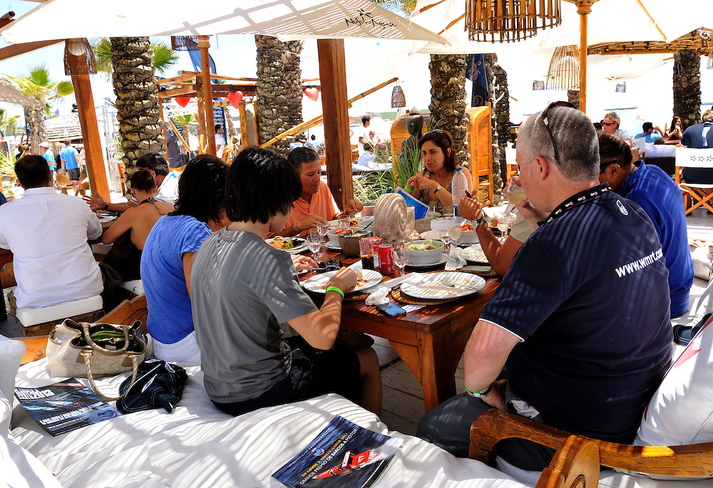 The ViP Village at the Portugal Match Cup. Photo:Chris Davies/WMRT