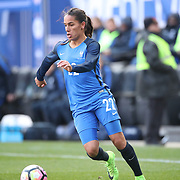 HARRISON, NEW JERSEY- MARCH 4:   Amel Majri #22 of France in action during the France Vs Germany SheBelieves Cup International match at Red Bull Arena on March 4, 2017 in Harrison, New Jersey. (Photo by Tim Clayton/Corbis via Getty Images)