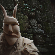 Lazarim, the place of the alder masks
