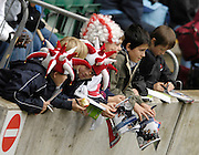 Twickenham, England.  England fan's wait for autograph's,  at the London Sevens Rugby, Twickenham Stadium, Sun, 27/05/2007 [Credit Peter Spurrier/ Intersport Images]