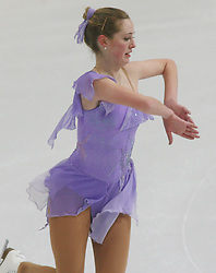 25.01.2011, Postfinance Arena, Bern, Eiskunstlauf EM 2011, im Bild Damen  Qualifikation Kur Katherine Hadford (HUN)// during the European Figure Skating Championships 2011, in Bern, Switzerland, EXPA Pictures © 2011, PhotoCredit: EXPA/ EXPA/ Newspix/ Manuel Geisser +++++ ATTENTION - FOR AUSTRIA/ AUT, SLOVENIA/ SLO, SERBIA/ SRB an CROATIA/ CRO, SWISS/ SUI and SWEDEN/ SWE CLIENT ONLY +++++