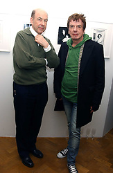 Left to right, ANTHONY d'OFFAY and NICKY HASLAM at a private view of 'Warhol's World' an exhibition of photography and Television by Andy Warhol held at Hauser & Wirth, Piccadilly, London on 26th January 2006.<br /><br />NON EXCLUSIVE - WORLD RIGHTS
