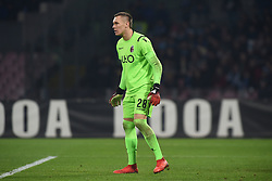 December 29, 2018 - Naples, Naples, Italy - Lukasz Skorupski of Bologna FC during the Serie A TIM match between SSC Napoli and Bologna FC at Stadio San Paolo Naples Italy on 29 December 2018. (Credit Image: © Franco Romano/NurPhoto via ZUMA Press)