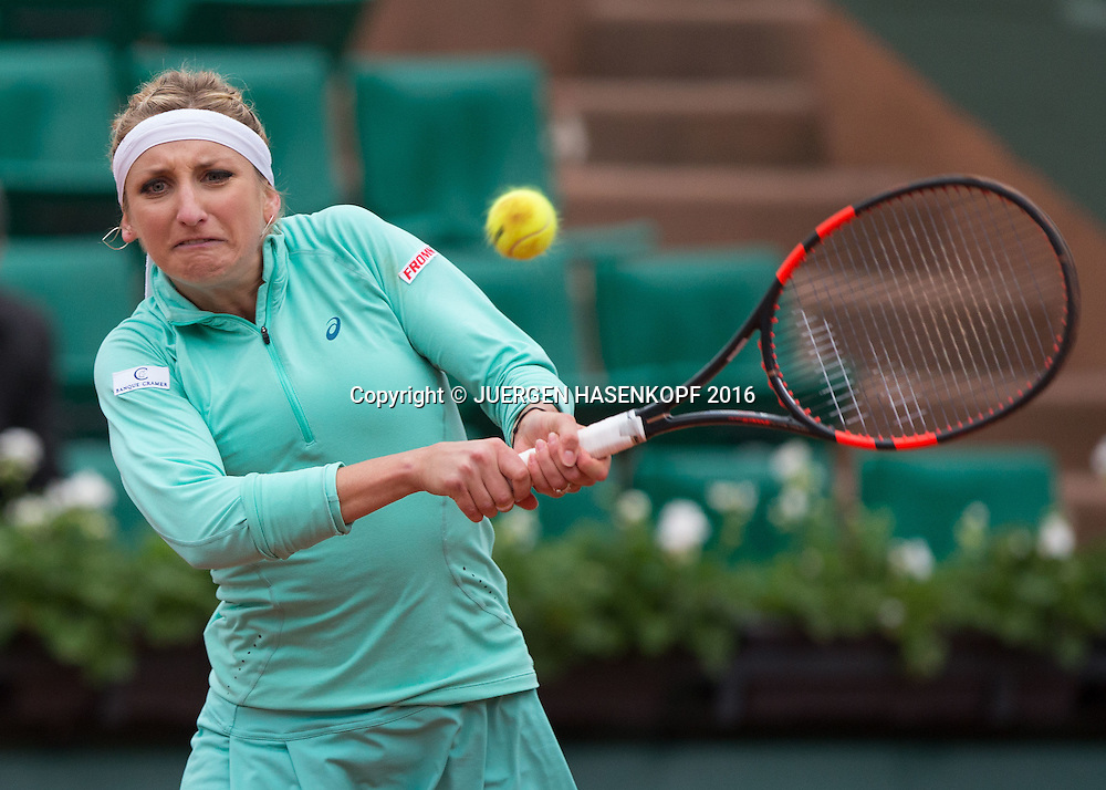 Timea Bacsinszky (SUI)<br /> <br /> Tennis - French Open 2016 - Grand Slam ITF / ATP / WTA -  Roland Garros - Paris -  - France  - 2 June 2016.