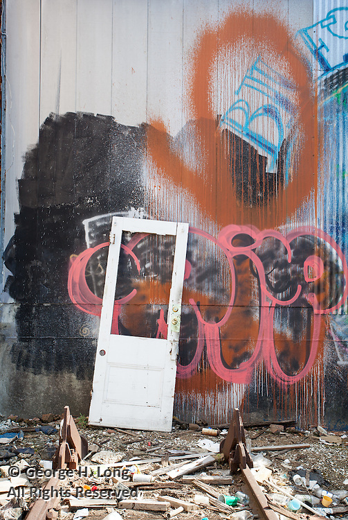 Graffiti at 2955 Dauphine Street; Bywater